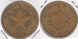 Cuba 1 Peso 1984 KM#105 - Used - Cuba