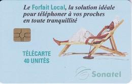 TARJETA DE SENEGAL DE 40 UNITES DE FORFAIT LOCAL - Senegal
