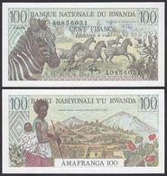 RWANDA. 100 FRANCS. 1/1/1978. Pick 12. UNC - Rwanda