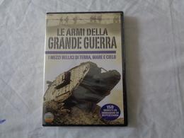 DVD VIDEO: LE ARMI DELLA GRANDE GUERRA - I Mezzi Bellici Della Prima Guerra Mondiale - SIGILLATO - LEGGI - Other