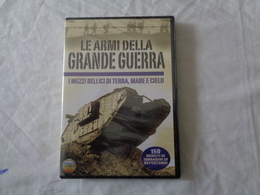 DVD VIDEO: LE ARMI DELLA GRANDE GUERRA - I Mezzi Bellici Della Prima Guerra Mondiale - SIGILLATO - LEGGI - Militari