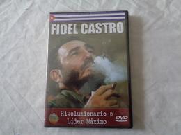 DVD VIDEO: FIDEL CASTRO RIVOLUZIONARIO E LIDER MAXIMO - SIGILLATO - LEGGI - Militari