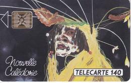 TARJETA DE NUEVA CALEDONIA DE 140 UNITES DE LE DANSEUR  TIRADA 10000 DEL 11/92 - New Caledonia