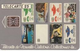 TARJETA DE NUEVA CALEDONIA DE 25 UNITES DE TELECARTES  TIRADA 75000 DEL 11/93 - New Caledonia