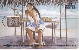 TARJETA DE NUEVA CALEDONIA DE 60 UNITES DE LA VENDEUSE DE MANGUES - New Caledonia