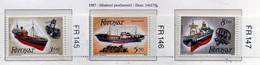 PIA  -  FAROER  -  1987  : Pescherecci -  (Yv 145-47) - Isole Faroer