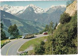 Mittersill: OPEL REKORD P2 CARaVAN, MERCEDES O 321 AUTOBUS, VW T1 'SAMBA' BUS - Paß Thurn - (Austria) - Voitures De Tourisme
