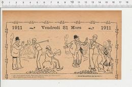 Humour Casseur De Cailloux Sur La Route Outil Marteau Masse 226L - Vieux Papiers