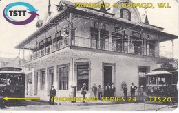 TARJETA DE TRINIDAD Y TOBAGO DE THE TRANSFER STATION IN 1905  323CTTX - Trinité & Tobago