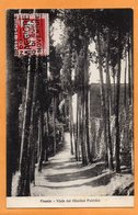 Fiesole Italy 1927 Postcard - Italie