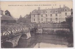 49 BOUZILLE Le Pont Et Le Château De La Mauvaisinière - France