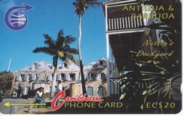 TARJETA DE ANTIGUA Y BARBUDA DE NELSON'S DOCKYARD  6CATB - Antigua And Barbuda