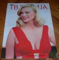January Jones TV REVIJA Serbian October 2012 VERY RARE - Books, Magazines, Comics