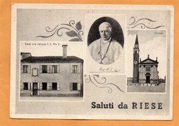 Saluti De Riese Italy 1950 Postcard - Treviso