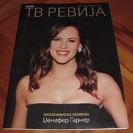 Jennifer Garner - TV REVIJA Serbian February 2018 VERY RARE - Books, Magazines, Comics