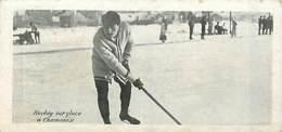 74* CHAMONIX  Hockey  ( Format 13,7x6,5 Cm)        MA88,1162 - Chamonix-Mont-Blanc