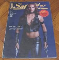 Jennifer Garner As Electra - SATELIT TV Serbian March 2003 VERY RARE - Books, Magazines, Comics