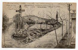Guerre 14-18--MONTAUVILLE--Cimetière Des Soldats Français Tués Aux Combats Du Bois Le Prêtre............. à Saisir - Andere Gemeenten