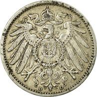 Monnaie, GERMANY - EMPIRE, Wilhelm II, Mark, 1909, Munich, TTB, Argent, KM:14 - [ 2] 1871-1918 : Empire Allemand
