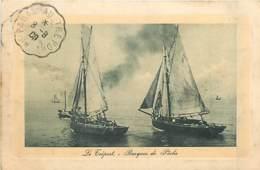 76* LE TREPORT Barques Peche              MA88,1341 - Le Treport