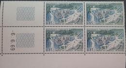 R1949/536 - 1969 - CHATEAU DE CHANTILLY - N°1584 BLOC CdF Daté TIMBRES NEUFS** - 1960-1969