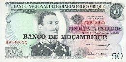 Mozambique 50 Escudos (1976)  Pick 116 UNC - Mozambico