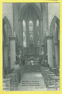 * Melsele (Beveren Waas - Gaverland) * (Uitg J. Smet) Binnenzicht Der Kapel, Intérieur De La Chapelle, Autel, Animée - Beveren-Waas