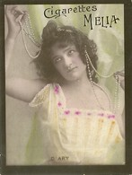 CIGARETTES MELIA - ALGER - TIRAGE B - FEMME D'ARY - Melia