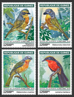 Guinea. 2019 Bushshrikes. (0102a)  OFFICIAL ISSUE - Oiseaux