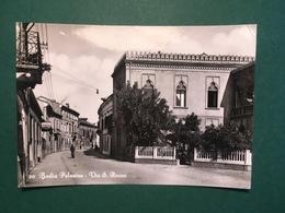 Cartolina Badia Polesine - Via S. Rocco - 1955 - Rovigo