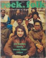 ROCK & FOLK N°49 - FEVRIER 1971 - ERIC BURDON/ZAPPA/MOODY BLUES - Musica