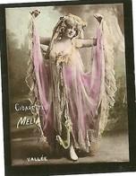 CIGARETTES MELIA - ALGER - TIRAGE F - FEMME VALLEE - Melia