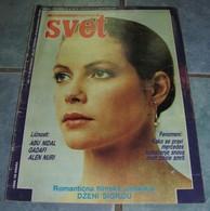 Jenny Seagrove - SVET - Yugoslavia January 1986 VERY RARE - Books, Magazines, Comics