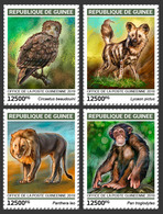 Guinea. 2019 Endangered Species. (0107a)  OFFICIAL ISSUE - Félins