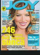 Jessica Biel - JOY - Serbian August 2009 VERY RARE - Books, Magazines, Comics