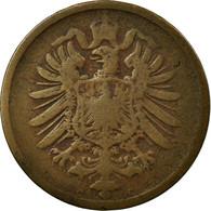 Monnaie, GERMANY - EMPIRE, Wilhelm I, 2 Pfennig, 1874, Frankfurt, TB+, Cuivre - [ 2] 1871-1918 : German Empire