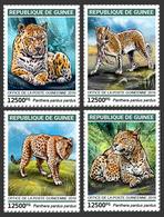 Guinea. 2019 Leopards. (0111a)  OFFICIAL ISSUE - Félins