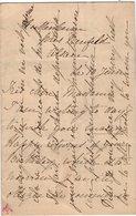 VP14.841 - Alsace - HUTTENHEIM - LAS - Lettre Autographe Mr A. De SAINTE - CROIX ?? - Autographes