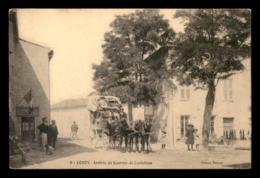 83 - COMPS - ARRIVEE DU COURRIER DE CASTELLANE - DILIGENCE - VOIR ETAT - Autres Communes