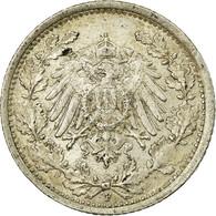 Monnaie, GERMANY - EMPIRE, 1/2 Mark, 1918, Stuttgart, SUP, Argent, KM:17 - [ 2] 1871-1918 : Empire Allemand