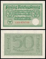 Germany / Third Reich / 1940  / 50 Reichspfennig / P: R 135 / UNC - [ 9] Duitse Bezette Gebieden