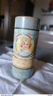 Ancienne Boîte Poudreuse De Talc , Laurent Freres , Parfumeurs Waterloo - Parfums & Beauté