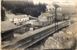 Belgique - Rochefort - Lavaux-Sainte-Anne - Lavaux - La Gare - Rochefort