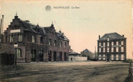 Belgique - Soignies - Neufvilles - La Gare - Soignies