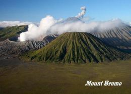 Indonesia Java Mount Bromo Volcano Postcard Indonesien AK - Indonesien
