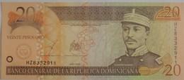 Billet De Le République Dominicaine De 20 Pesos Oro 2003 Pick 166 Neuf/UNC - Dominicana