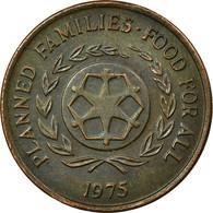 Monnaie, Tonga, King Taufa'ahau Tupou IV, 2 Seniti, 1975, TB+, Bronze, KM:43 - Tonga