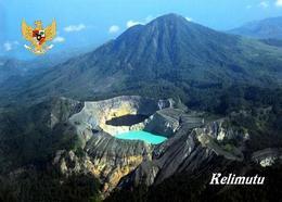 Indonesia Kelimutu Volcano Lakes Postcard Indonesien AK - Indonesien