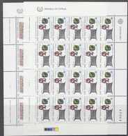 Europa Cept 1983 Cyprus 2v 2 Sheetlets ** Mnh (F7739) - 1983