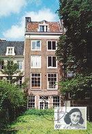 D36868 CARTE MAXIMUM CARD THEME RR FD 1980 NETHERLANDS - HOUSE OF ANNE FRANK WWII AMSTERDAM ACHTERHUIS CP ORIGINAL - WW2
